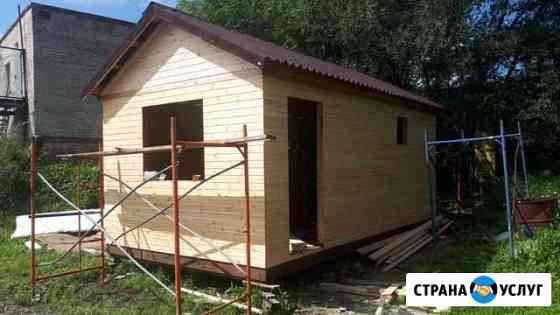 Каркасная баня 6х3,2 готовая Хабаровск