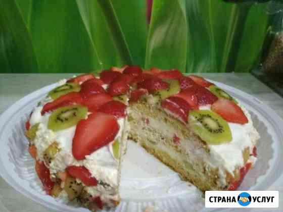 Домашние торты на заказ Абакан