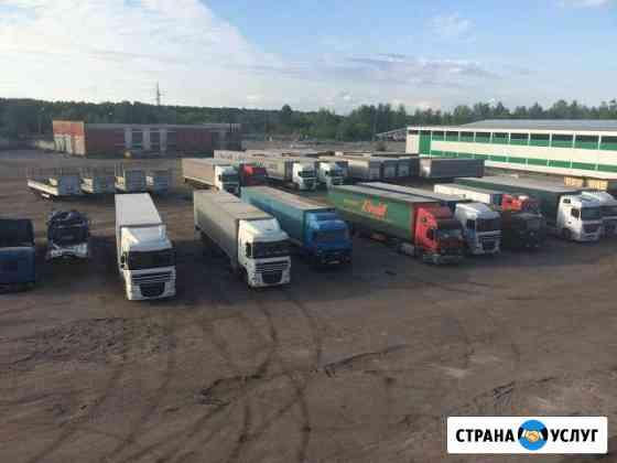 Складские услуги, хранение автотранспорта Брянск