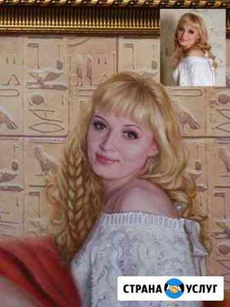 Портрет по фото, на заказ. подарок. Масло Холст Иваново