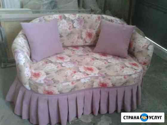 Ремонт перетяжка мягкой мебели Абакан