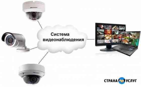 Установка видеонаблюдения, домофонов под ключ Улан-Удэ