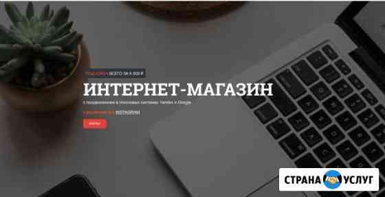 Создам интернет магазин продвину товары в топ, сео Петрозаводск