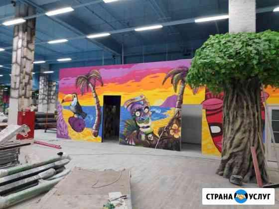 Роспись стен Владимир