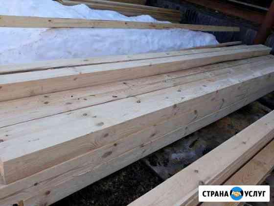 Услуги по распиловке и строжке древесины Вязники