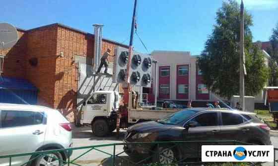 Услуги манипулятора Новочебоксарск