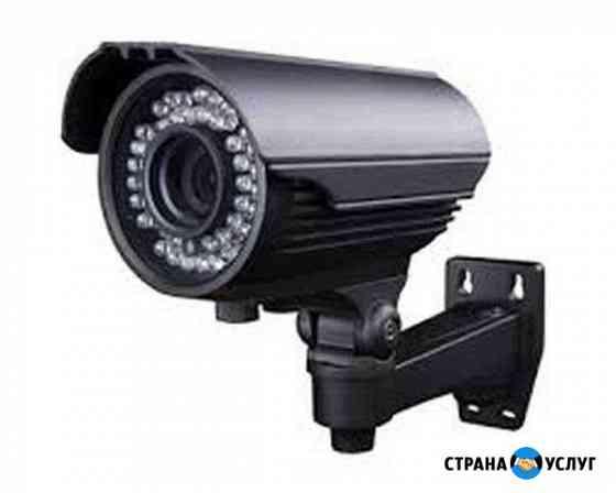 Установка систем видеонаблюдения Энгельс