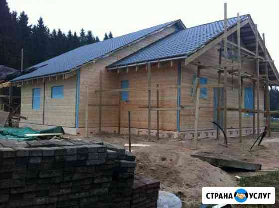 Строительство загородных домов Рощино