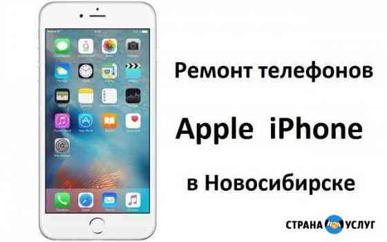 Ремонт Apple iPhone в Новосибирске Новосибирск