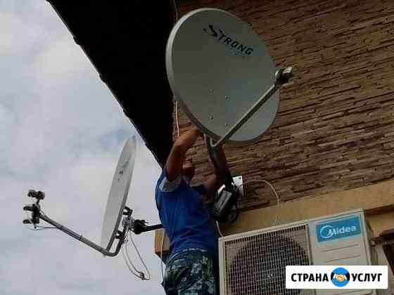 Настройка и ремонт спутникового и эфирного тв Самара