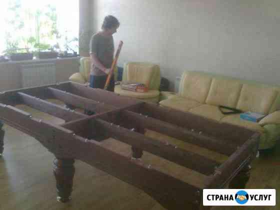 Перетяжка, сборка-разборка бильярдных столов Нижний Новгород