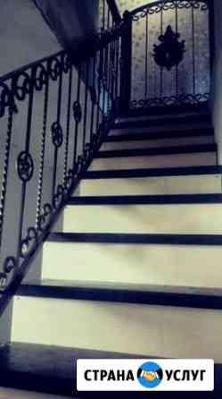 Лестницы на металлокаркасе Выкса