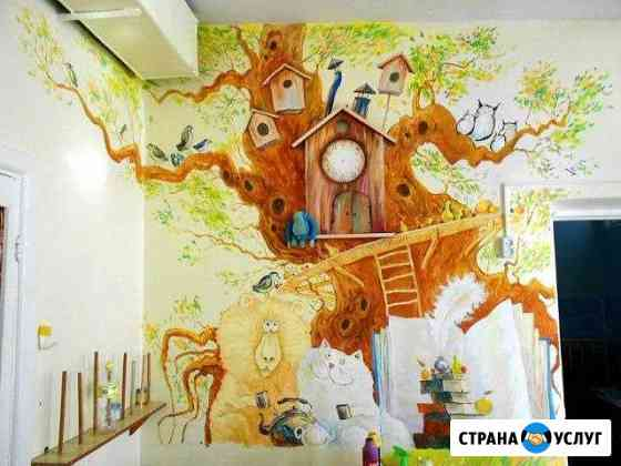 Роспись стен, золочение, патина Ковылкино