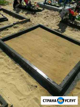 Благоустройство могил, установка - переустановка п Нижний Новгород
