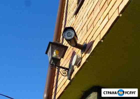Монтаж, ремонт, настройка систем видеонаблюдения Казань