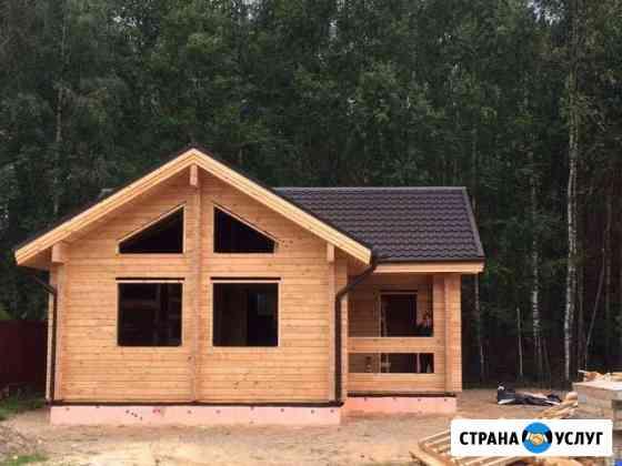 Строительство клееный брус плотники Санкт-Петербург