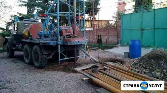 Бурение скважин на воду в Крыму Симферополь