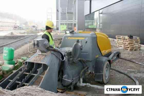 Раствор и бетон с подачей по шлангам Сыктывкар
