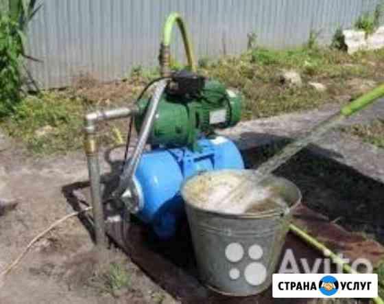 Бурение водных скважин Надым