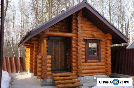 Отделка деревянных домов, бань, саун Брянск