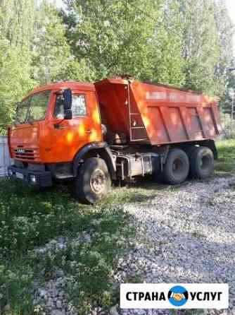 Доставка земли перегноя навоза песка щебня глины Петровск