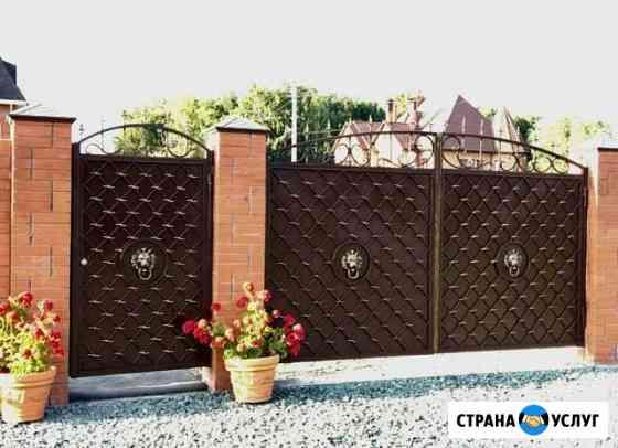 Изготовлю кованые изделия перила,козырьки,ворота Омск