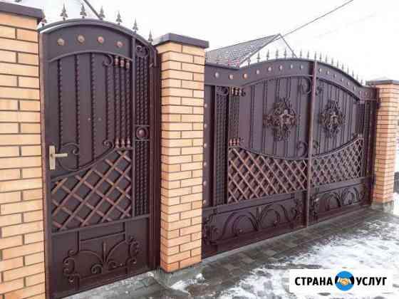 Металлоизделия,ворота,козырьки,двери,ковка,заборы Бийск