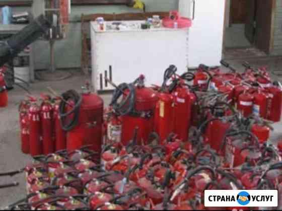 Перезарядка, продажа огнетушителей Саратов