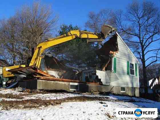 Демонтаж, снос, разбор домов и дач Норильск