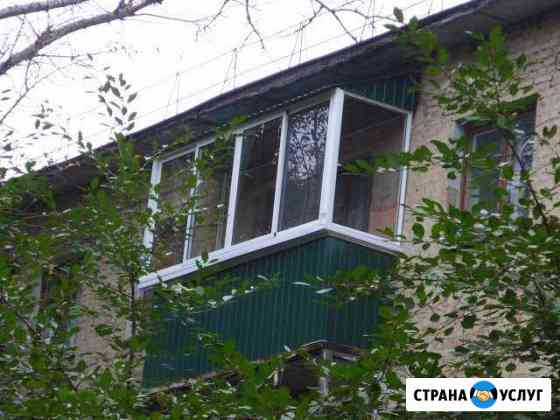 Остекление лоджий и балконов Курск