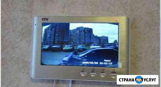 Видеодомофон в квартиру подключение Владимир