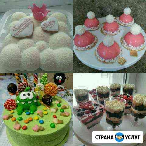 Торт на заказ, макарунс, пирожные. Свадебный карав Ставрополь