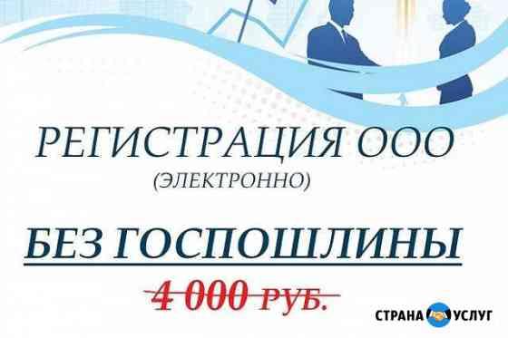 Регистрация ооо без посещения фнс / Юр. адрес/ эцп Барнаул