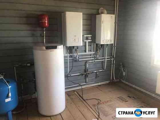 Сантехник, отопление, водоснабжение, канализация Казань