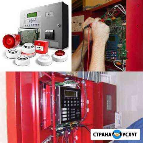 Монтаж, обслуживание охранно-пожарной сигнализации Ульяновск