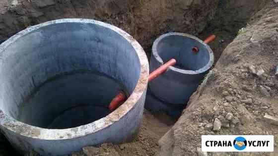 Строим, выгребные ямы, септики,в/проводы Соликамск