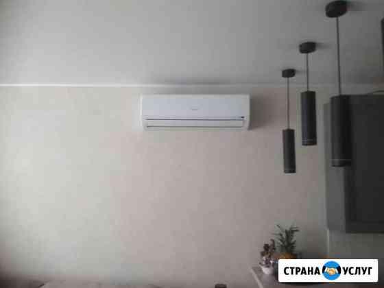 Монтаж систем кондиционирования Сафоново