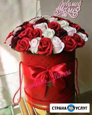 Мыльные розы, большие цветы Шали