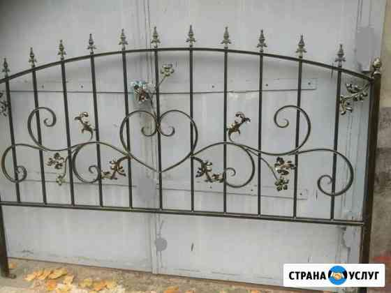 Ограды, столы, лавки, кресты, худ. ковка Иваново