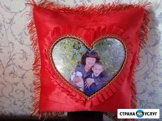 Фото-подушка в подарок Чита