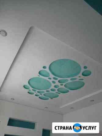 Натяжные потолки, слив воды, монтаж, демонтаж Екатеринбург