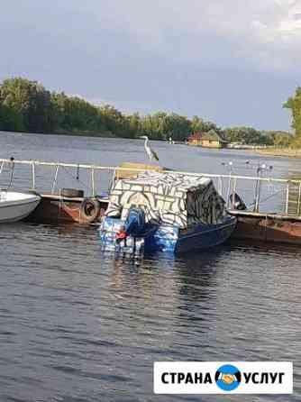 Стоянка на лодочьной базе Маркс