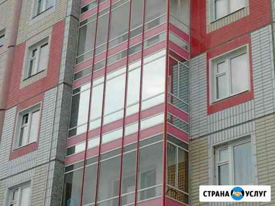 Тонировка окон зданий, балконов, - солнцезащита Красноярск