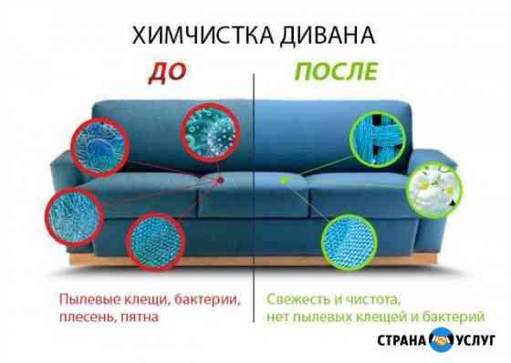 Химчистка мебели, ковров, салона авто Кострома