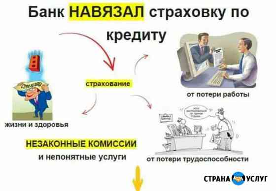 Возврат страховок по кредитам и автокредитам Белореченск