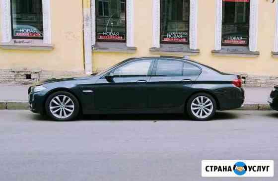 Аренда автомобиля с водителем бмв 5 Санкт-Петербург