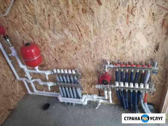 Монтаж водоснабжениям и отопления Бузулук