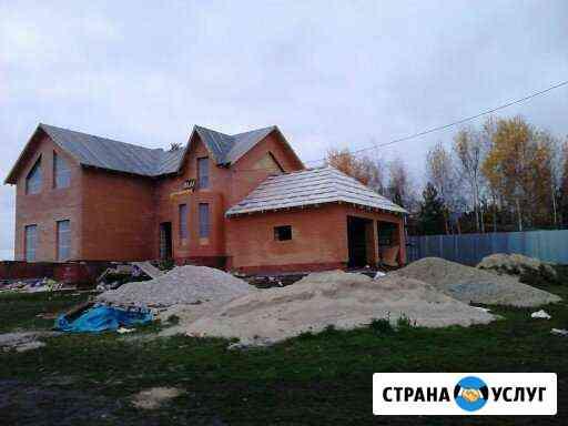 Строительство коттеджей Новомосковск