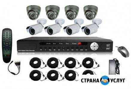 Установка систем видеонаблюдения Элиста