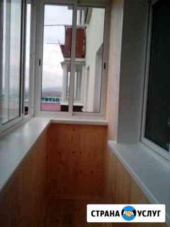 Пластиковые окна, остекление балконов, ремонт Улан-Удэ